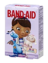 Band-Aid Adhesive Bandages Doc McStuffins 20 Count