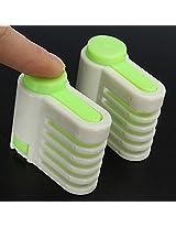 2Pcs Baking Tool Cake Layer Slicer Cutter Delaminator