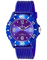 Aveiro Analog Blue Dial Unisex Watch - AV75BLU