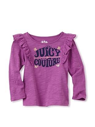 Juicy Baby Long Sleeve Tee (Purple Dahlia)
