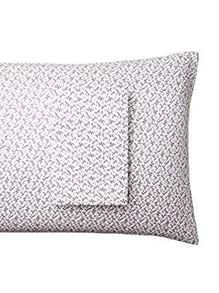 lazybones Standard Pillowcase Set, Atomic