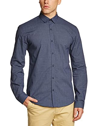 Selected  Camisa Lianyungang (Azul)