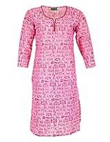 2dots Women's Cotton Regular Fit Kurti