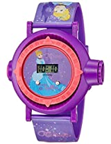 Disney Digital Multi-Colour Dial Girl's Watch - DW100481