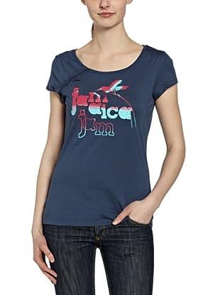 PUMA T-Shirt Jamaica Beach Organic Cotton (dark denim)
