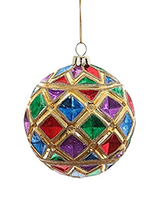 Winward Kaleidoscope Ball Ornament, Multi