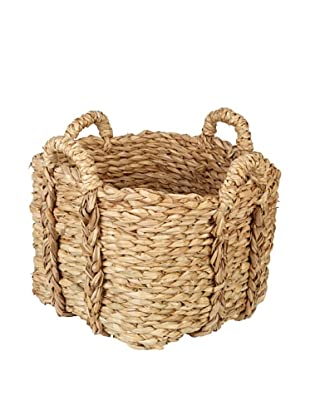 Europe2You Small Rush Laundry Basket
