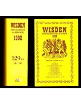 Wisden Cricketers' Almanack 1992