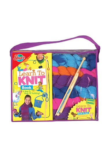 Shure Learn to Knit Set & Book
