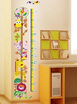 Ambiance Sticker Wandtattoo Owl And Girafe (Kidmeter)
