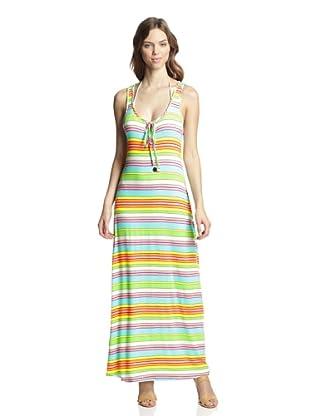 Trina Turk Women's Tennis Anyone Striped Maxi Dress (Multi)