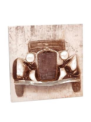 Amadeus Lienzo Coche Vintage 60 x 60 cm