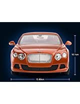1/14 Bentley Continental Gt Speed Radio Remote Control Car Rc (Orange)
