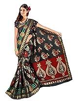Saree Sansarr Saree (7111_Black)