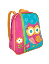 Stephen Joseph Little Girls'  Go-Go Bag, Teal Owl, One Size