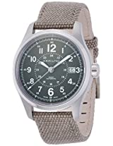 Hamilton Khaki Field Automatic Green Watch H70595963