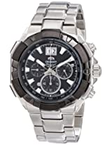 Orient Men's FTV00002B0 Enterprise Analog Japanese-Automatic Silver Watch
