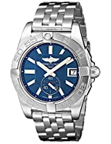 Breitling Men's BTA3733012-C824SS Galactic 36 Analog Display Swiss Automatic Silver Watch