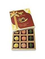 9pc Scrumptious White Collection Of Chocolates - Chocholik Belgium Chocolates
