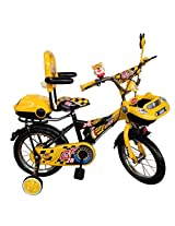 HLX-NMC KIDS BICYCLE 14 CAR-X YELLOW/BLACK