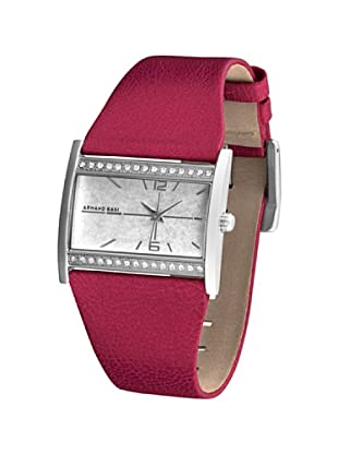 ARMAND BASI A0081L17 - Reloj de Señora movimiento de cuarzo con correa de piel Roja