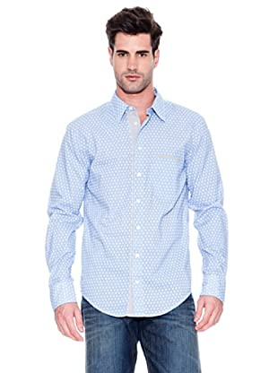 Hugo Boss Camisa Cielo (Azul / Blanco)