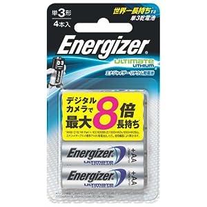 シック エナジャイザー リチウム乾電池 単3形 4本入 FR6ELU 4B