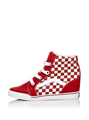 Vans Keil Sneaker Sk8 Hi rot EU 38 (US 7.5)