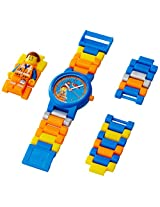 LEGO Kids' 8020219 LEGO Movie Emmet Plastic Minifigure Link Watch