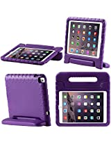 iPad Air 2 Case, i-Blason Apple iPad Air 2 Case for Kids [ArmorBox Kido Series] Light Weight Super Protection Convertable Stand Cover for iPad Air 2nd Generation 2014 Release (iPad Air 2, Purple)