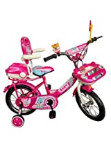 HLX-NMC KIDS BICYCLE 14 CAR-X PINK/WHITE