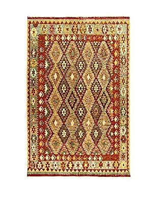 L'Eden del Tappeto Teppich Kilimp-Vegetale mehrfarbig 299t x t191 cm