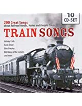 Train Songs - 200 Great Songs About Railroads(10cd)