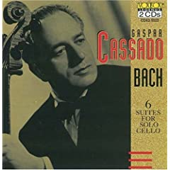 Gaspar Cassado Plays Bach Cello Suites