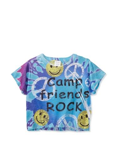 Purple Orchid Girl's Camp Friends Rock Tee (Multi)