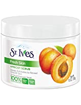 St. Ives Fresh Skin Invigorating Apricot Scrub, 10 Ounce