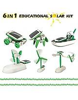 Bepha Mart New 6 In 1 Educational Solar Toys Kit Robot Chameleon
