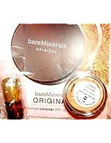 Bareminerals Original Spf 15 Foundation Medium Beige Travel Set 03 Oz With Mini Brush