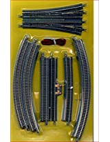 Micro Trains Z Scale 13 Degree Right Manual Turnout 990 40 102