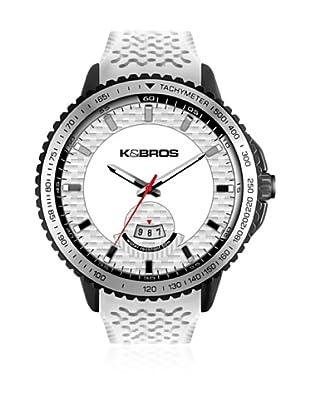 K&BROS Reloj 9458 (Negro Blanco)