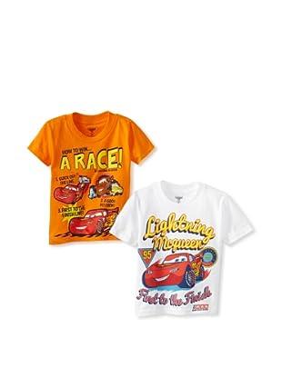 Freeze Boy's Cars 2-Pack T-Shirt Bundle (Assorted)