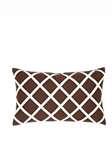 Blissliving Home Fisher Pillow, Brown
