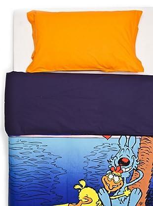 Cartoons Home Textile Parure Copripiumino Lupo Alberto