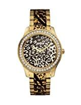 Guess Iconic Analogue Brown Dial Women's Watch - W0465L1