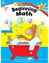 Beginning Math (Homeworkbooks Gold Star Edition, Grade 1)