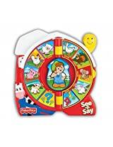 Fisher Price See N Say The Farmer Says Baby & Toddler Toys > Music & Sound Preschool > Pre Kindergarten Toys