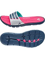 Adidas Women's Adipure 360 Slide Flip-Flops and House Slippers - Flip Flops - Plastic Moulded
