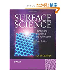 Surface Science: Foundations of Catalysis and Nanoscience