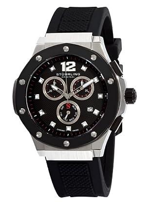 STÜRLING ORIGINAL 160C.33161 - Reloj de Caballero movimiento de cuarzo con correa de silicona