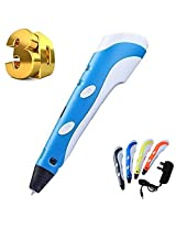 Aker 3 D Printer Pen With Free Pla Filament 3 D Drawing And Doodling Version 2015